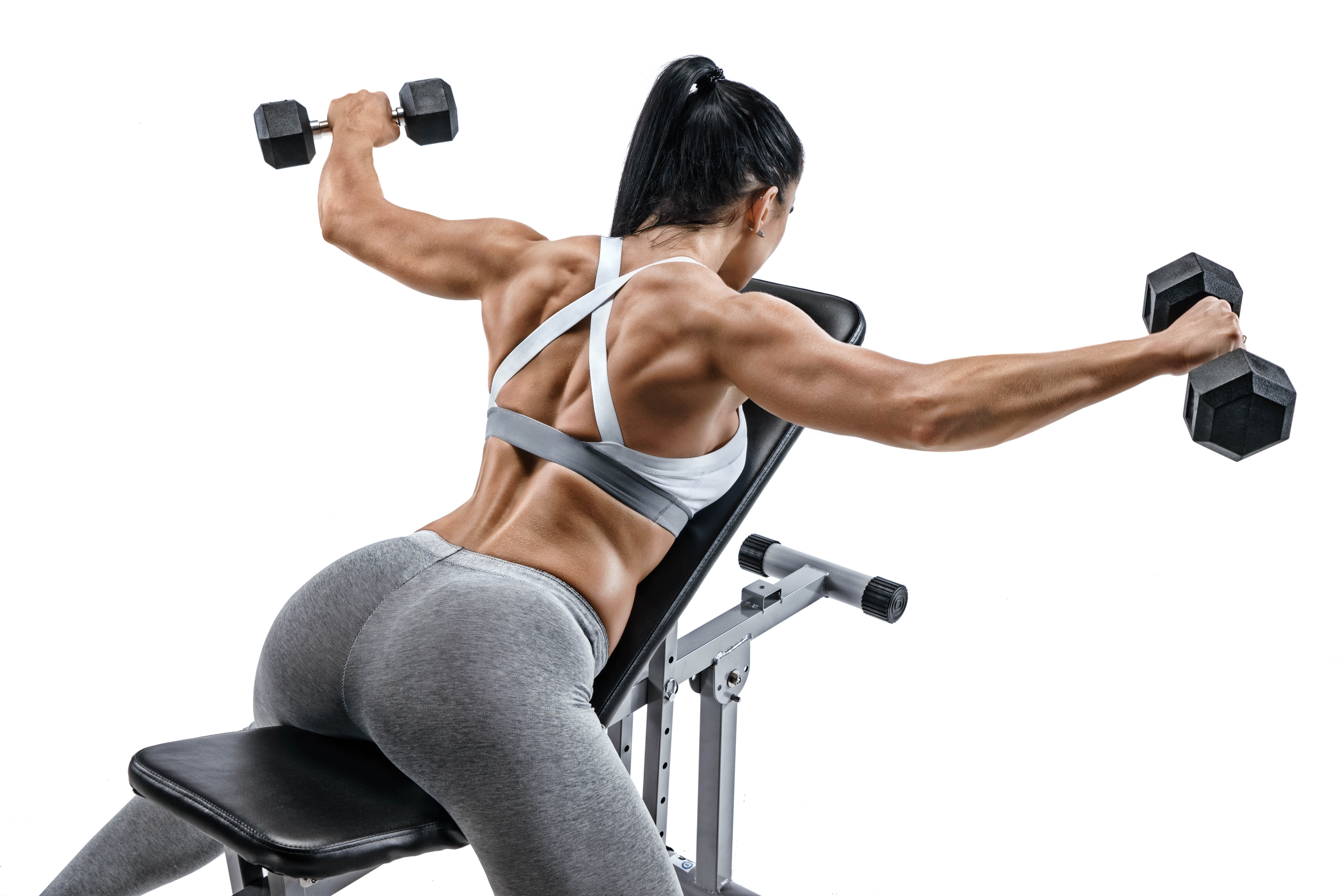 Mid-shrugs can be interesting alternative for typical shoulder press
