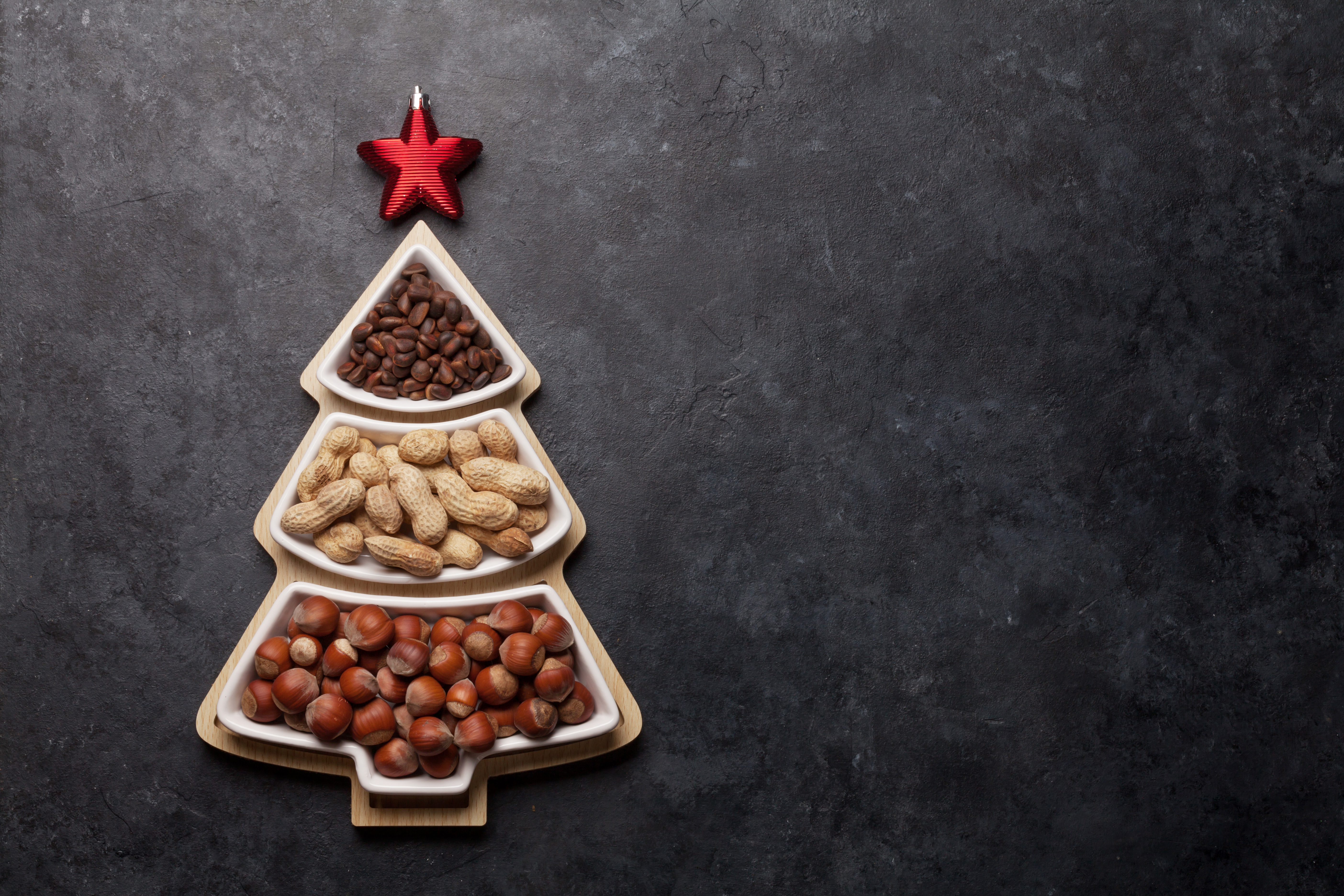 Nuts even though exotic can be highly valuable addition to christmas dinner!