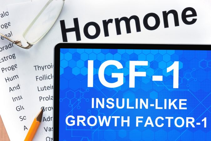 Selenium and coenzyme Q10 increase IGF-1 concentration