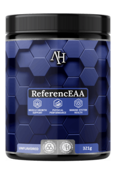 Recommended EAA supplement, containing complex blend of every Exogenous Amino Acid - ReferencEAA from Apollo's Hegemony