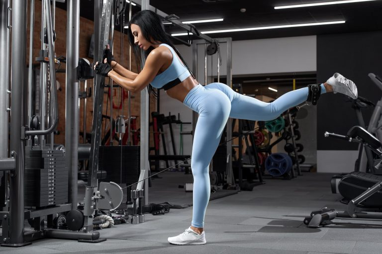 Well Developed Glutes