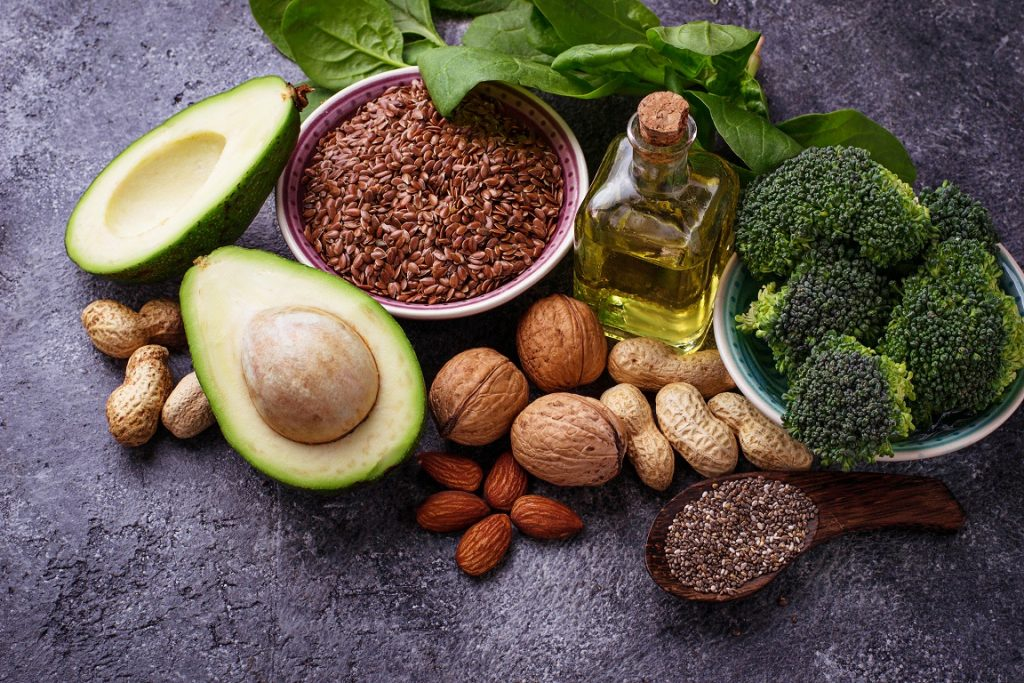 Most important sources of Omega 6 and 9 fatty acids