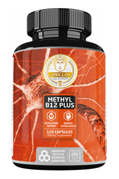 If you are looking for effective way to supplement Vitamin B12 - Methyl B12 Plus from Apollo Hegemony should be your choice!