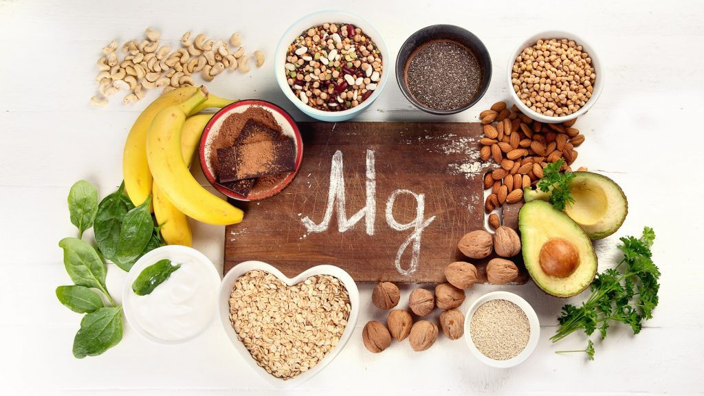 Main food sources of magnesium