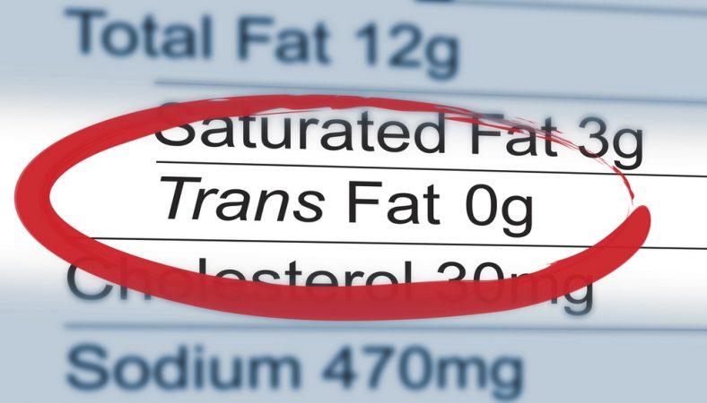 Should we be afraid of trans fats?