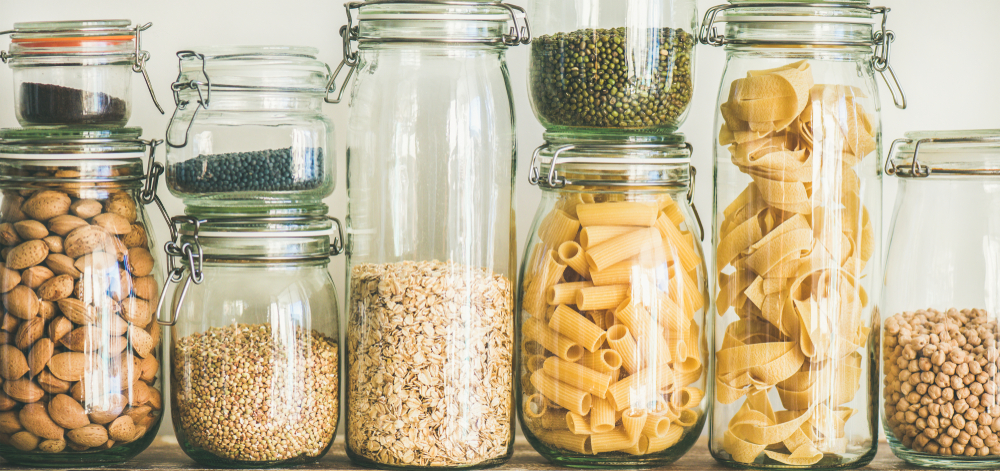 Remember about proper storage of dry food!