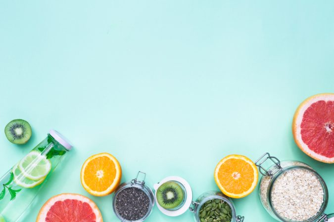 Which fruits support fat burning?