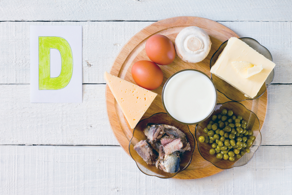Main sources of Vitamin D in the diet