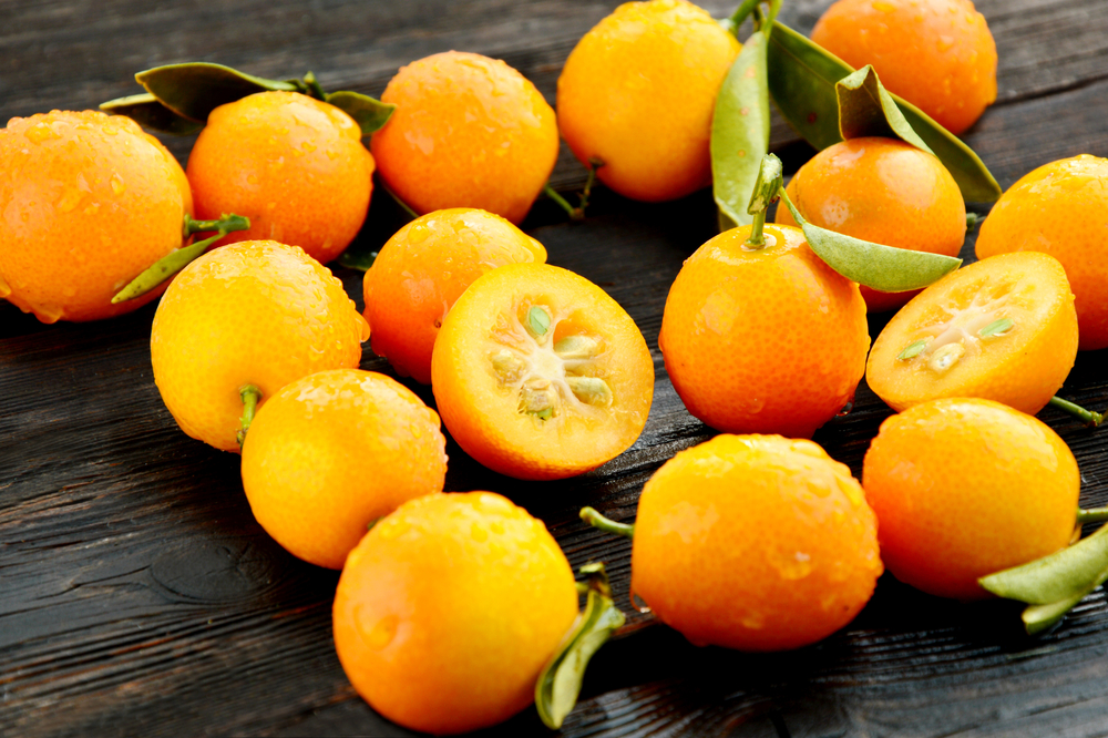 Fresh kumquat fruit