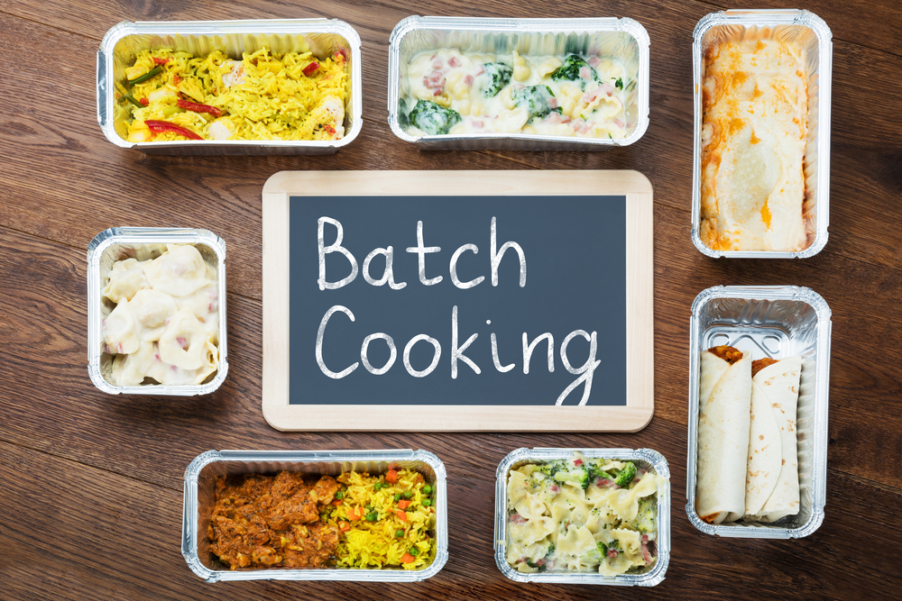 Some boxes and you are good to go with bath cooking!