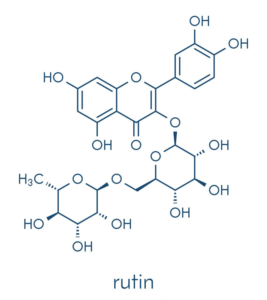 Rutin (Rutoside) chemical structure