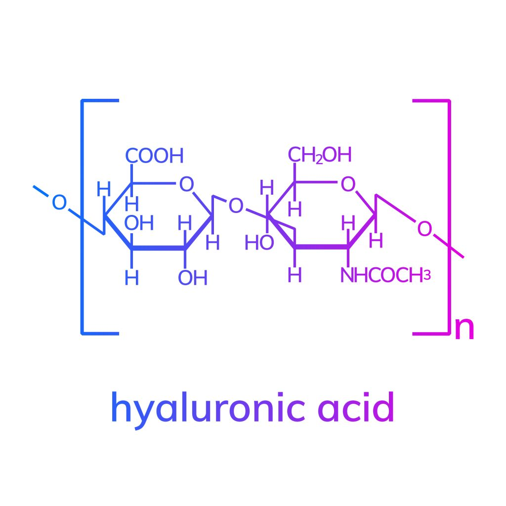 Hyaluronic acid chemical formula