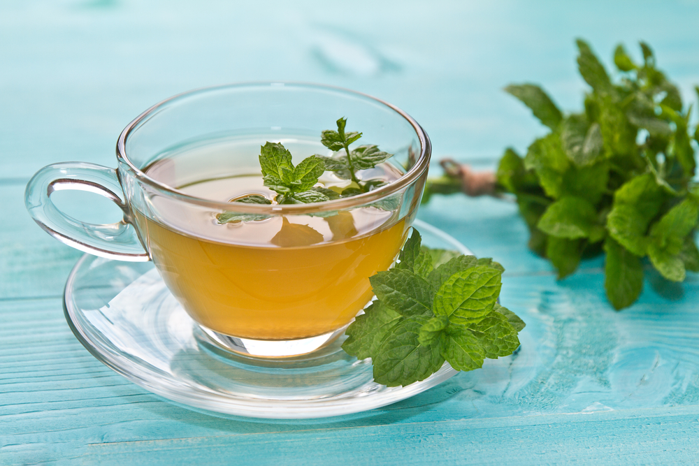 Mint tea is not only very tasty but also very effective in improving your digestion