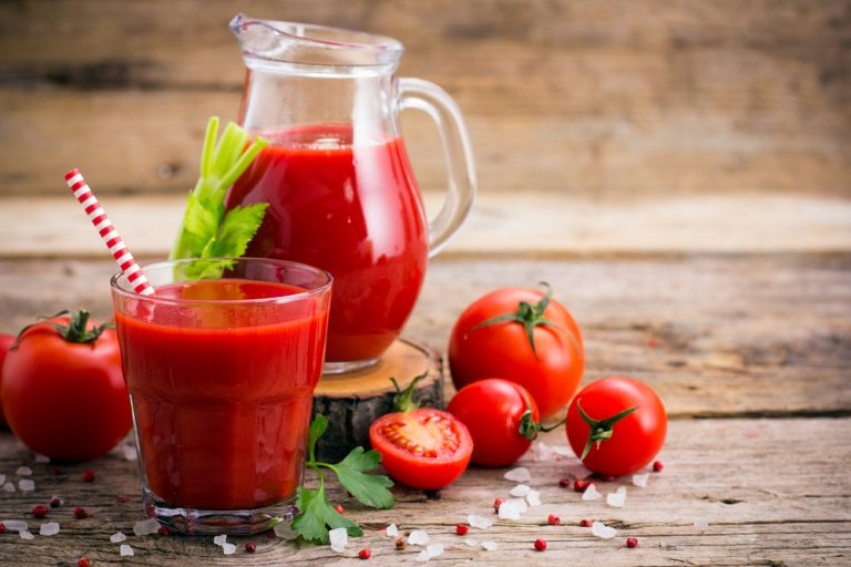 Tomato juice – health properties and nutritional values
