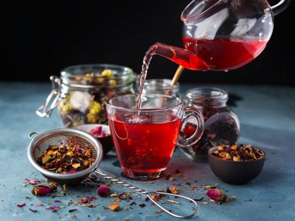 Properties of red tea