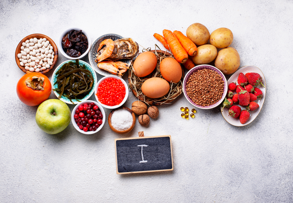 Best dietary sources of iodine