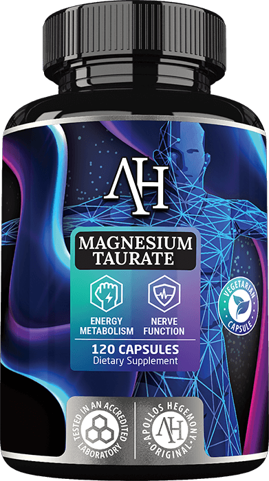 Recommended Magnesium Taurate supplement - specifically designed to support your heart condition - Apollo's Hegemony Magnesium Taurate