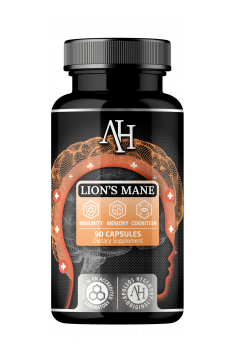 Recommended Lion's Mane supplement - Apollo's Hegemony Lion's Mane contains high quality vital mushroom extract