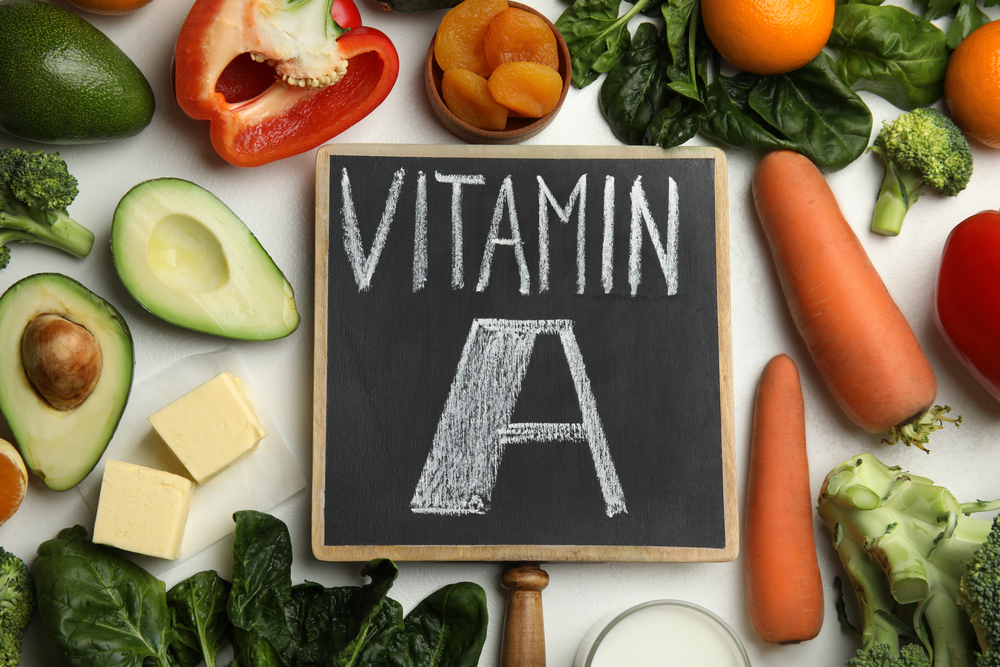 The healthiest sources of Vitamin A are vegetables and fruits