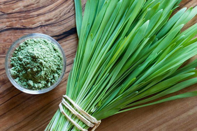Young barley – a natural weight loss remedy!
