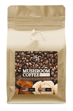 If you are looking for more interesting way of adding vital mushrooms to your diet, Apollo's Hegemony has created a blend of coffee and various vital mushrooms which can be great and healthier substitute for normal black coffee - Try Mushroom Coffee from Apollo's Hegemony!