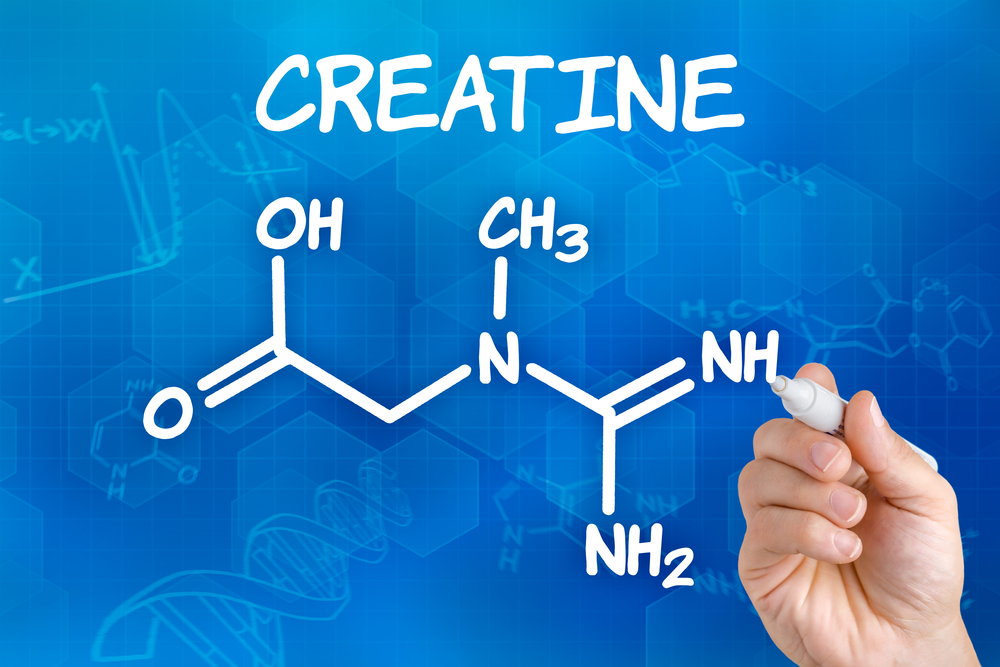 Chemical structure of creatine