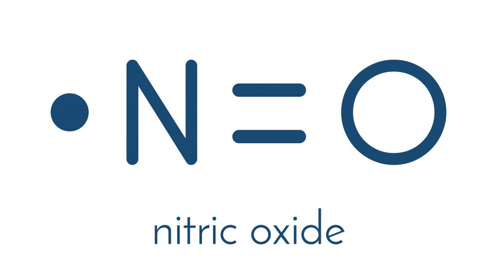 Chemical structure of Nitric Oxide