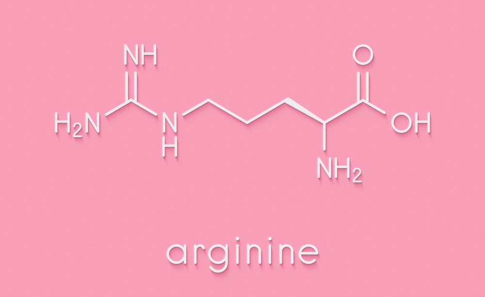 Chemical structure of L-Arginine