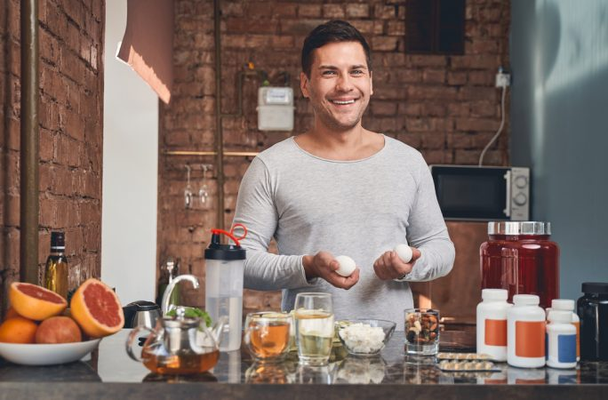 What vitamins does a man need?