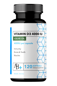 Recommended Vitamin D supplement - Apollo's Hegemony Vitamin D3 4000IU